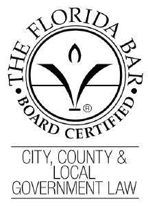 Wade Vose - Board Certified by the Florida Bar in City, County & Local Government Law